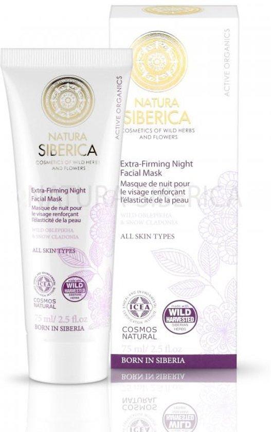 Natura Siberica Extra-Firming Night Facial Mask 75ml