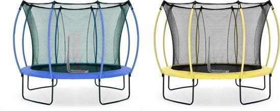 Plum Colours Springsafe - Trampoline - 10ft - omkeerbaar - Limoengroen/Blauw