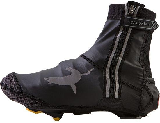 Sealskinz Lightweight Open Sole Halo Overschoenen - Maat L(43-46) - Zwart