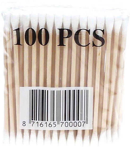 Wattenstaafjes Hout - 100 st