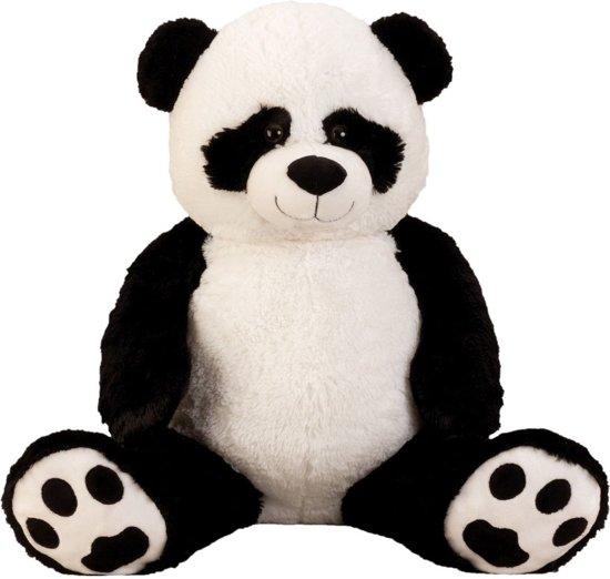 ffddb9e7c2a199 bol.com | Pluche Knuffel Pandabeer (extra) groot XXL 100cm - met ...