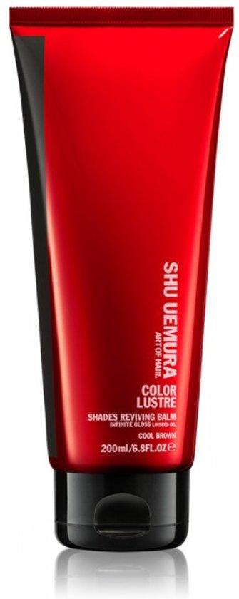 Shu Uemura Color Lustre Shades Reviving Balm Kleurconditioner Cool Brown 200ml