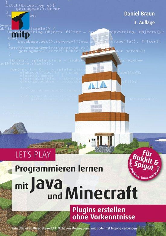 Boek cover Lets Play.Programmieren lernen mit Java und Minecraft van Daniel Braun (Onbekend)