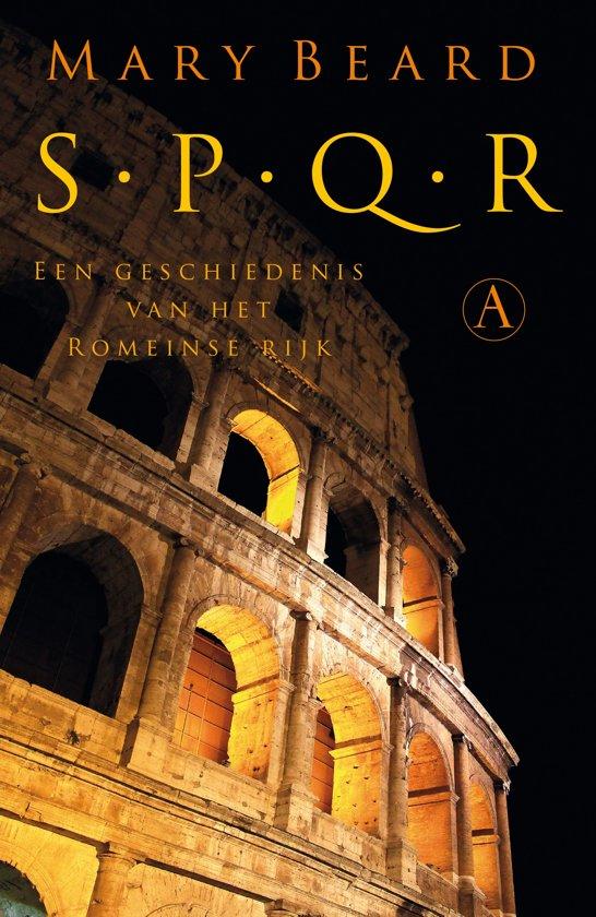 Boek cover SPQR van Mary Beard (Hardcover)