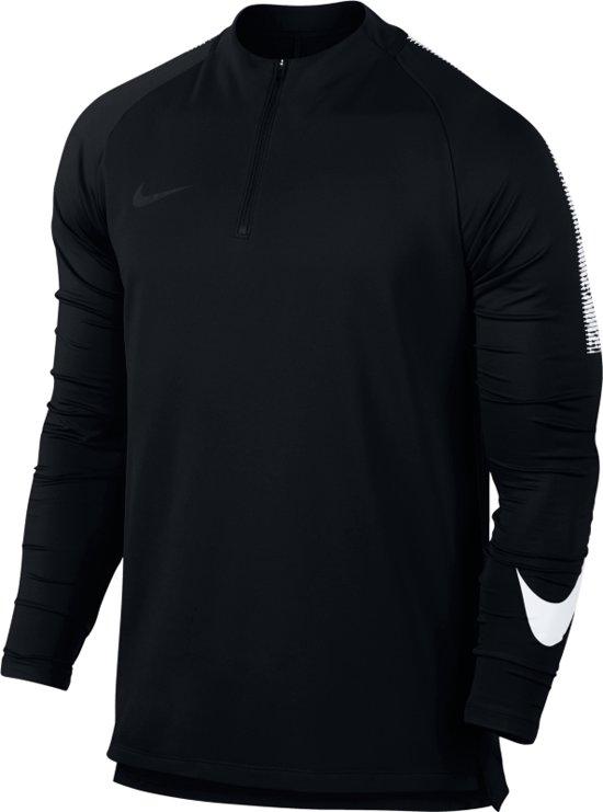 b4d74cb8a34 Nike Dry Squad Dril Top - Sporttrui - Heren - Maat M - Zwart - wit