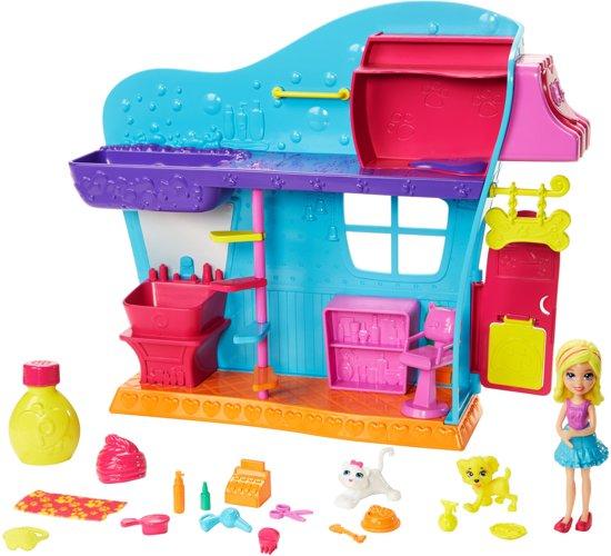 Polly Pocket Dierensalon - Speelfigurenset