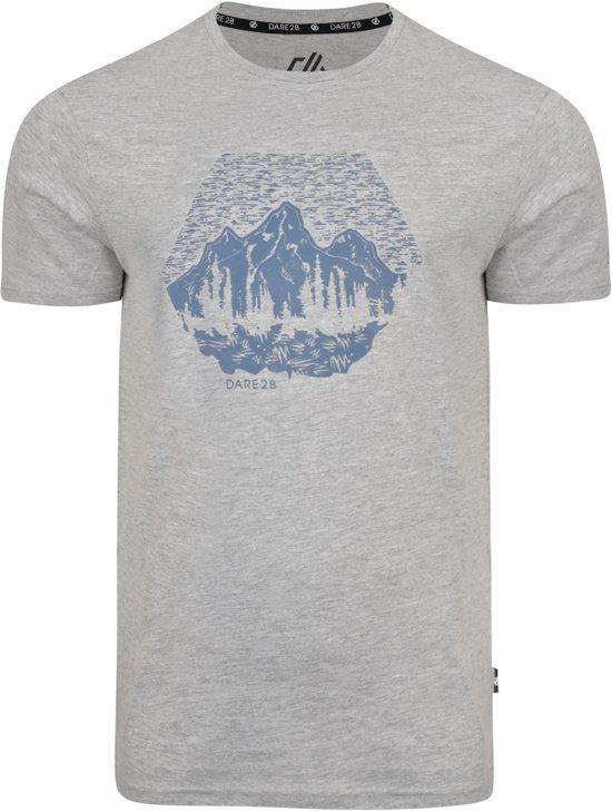 Dare 2b-Transferal Tee-Outdoorshirt-Mannen-MAAT XS-Grijs