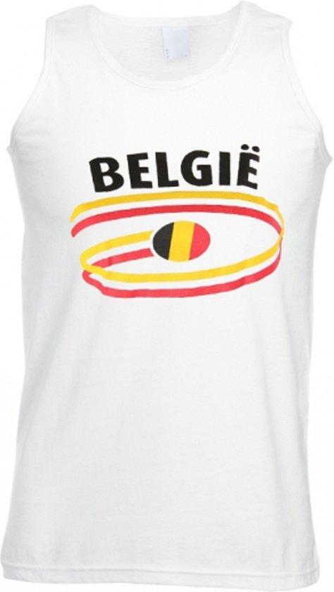 België Tanktop - Mannen - Maat M