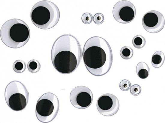 Wiebel oogjes - 100 stuks