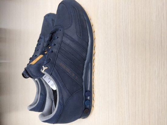 bol.com   Adidas LA Trainer blauw leer maat 42 2/3