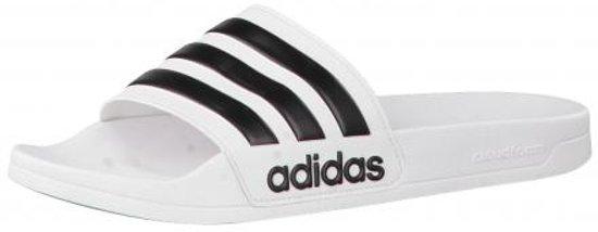 adidas Adilette Cloudfoam slippers witzwart