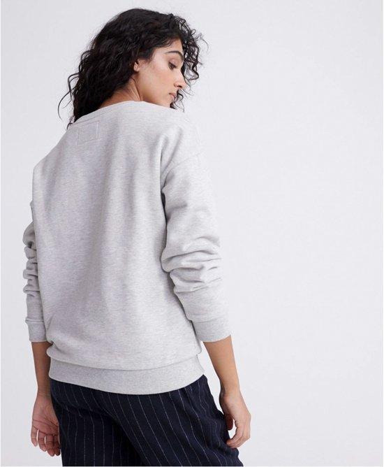 Superdry Dames APPLIQUE SERIF CREW Sweater L