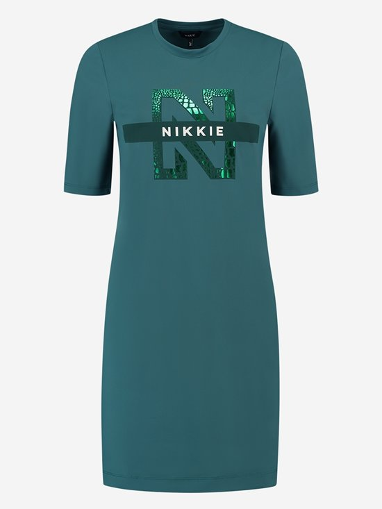 Nikkie By Nikkie Plessen Suzy Tee Dress Hunter