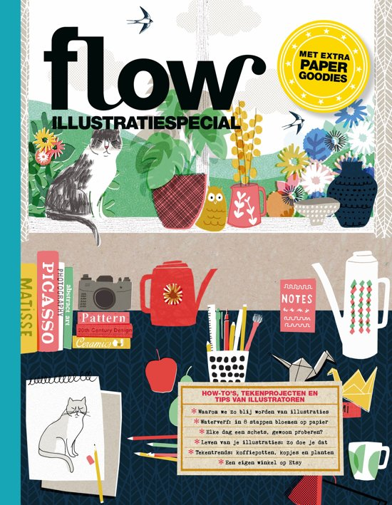 Boek cover Flow special illustraties van Sanoma (Paperback)