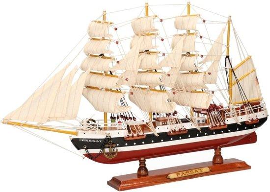 Decoratie zeilboot passat 50 cm merkloos for Decoratie zeilboot