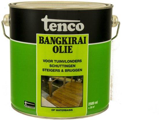 Bekend bol.com | Tenco Bangkirai Olie - 2500 ml VZ81
