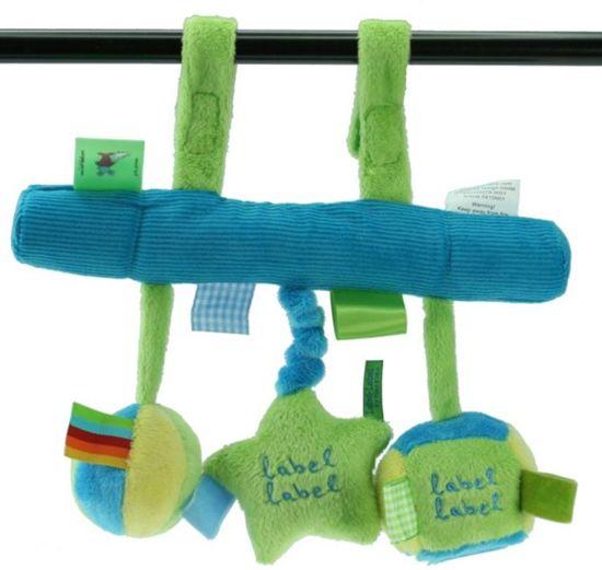 Label-Label - Stars Autospeeltje - Blauw/Lime