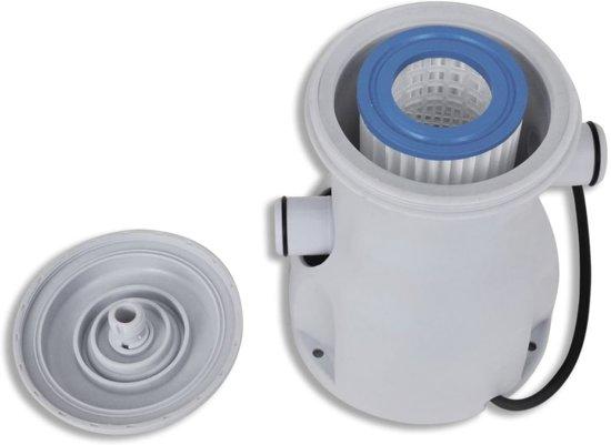 vidaXL Zwembad filterpomp 300 gal/h