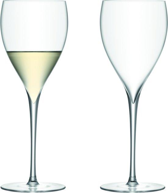 LSA Savoy Wijnglas - 380 ml - Set van 2 Stuks - Transparant