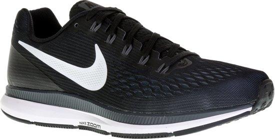 Nike Wmns Air Zoom Pegasus 34 Hardloopschoenen Dames - Black/White-Dark Grey-Anthracite