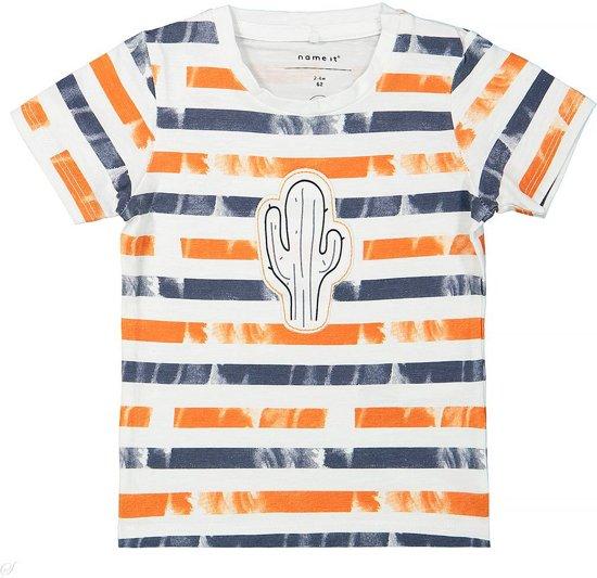 Name It T-shirtje Deston vintage indigo  -  Maat  74