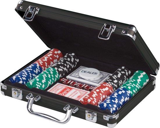 bol.com   Pokerset 200 chips in zwarte aluminium koffer 11
