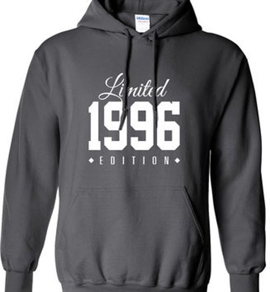 Hippe Edition Jaartal Uw Verjaardag Limited Medium SweaterHoodie Kies VLqUMpSzG