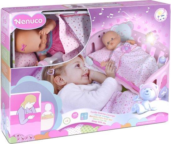 Nenuco 35 cm met bed - Babypop