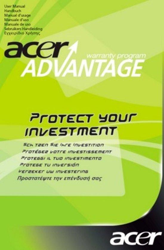 Acer advantage garantie uitbreiding naar 3 jaar (carry-in)