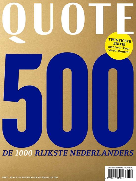 Lijst Quote 500.Quote 500