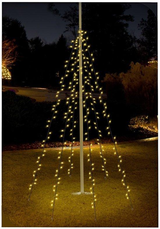Bol Com Vlaggenmast Verlichting Kerstverlichting Warmwit 6