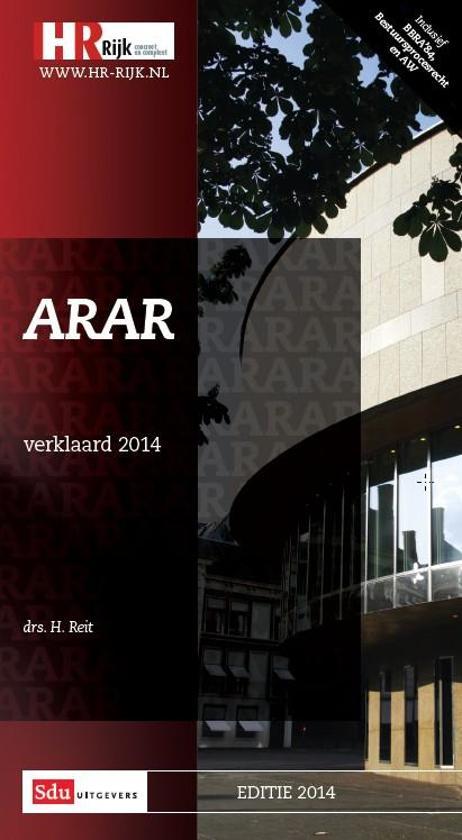 2014 ARAR verklaard - H. Reit pdf epub