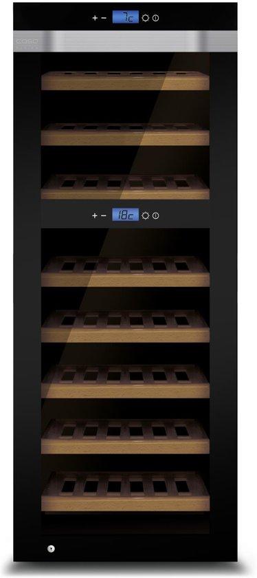CASO WineMaster Touch A One - Wijnklimaatkast - 44 flessen