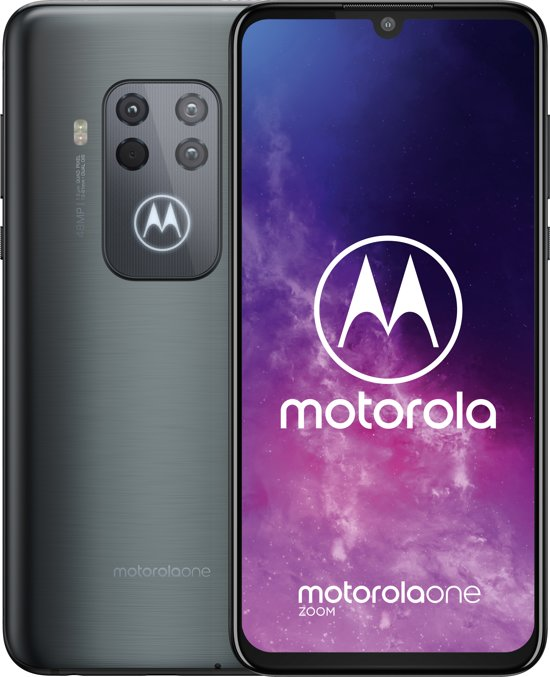 Motorola One Zoom - 128GB - Electric Grey (Grijs)