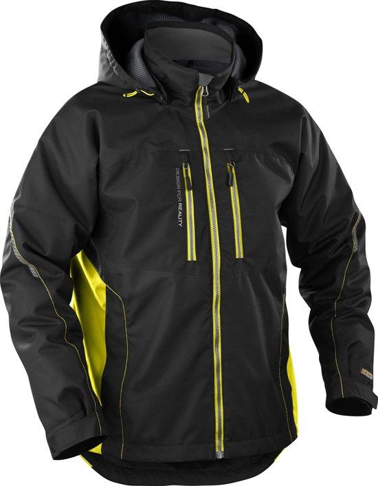 Bläkläder functionele winterjas - Zwart/Geel