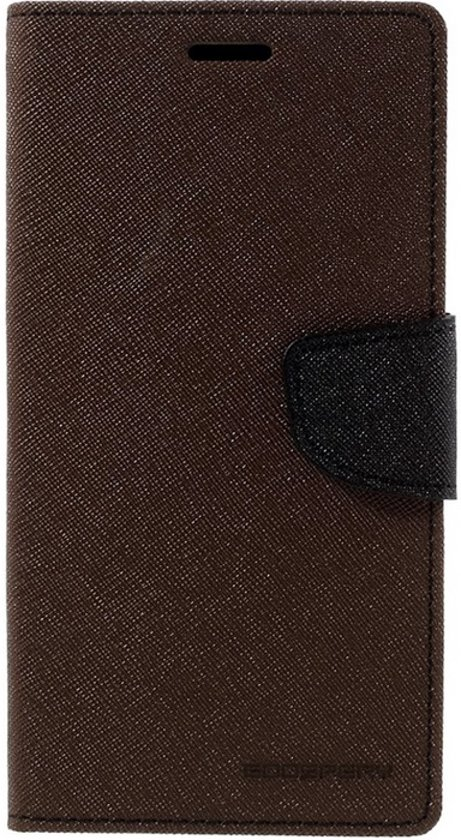 Mercury Fancy Diary WalletCase voor Samsung Galaxy S7 - Bruin in Heukelom