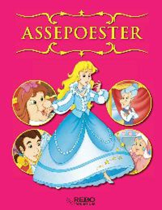 Cover van het boek 'Assepoester - sprookjesverhalen'