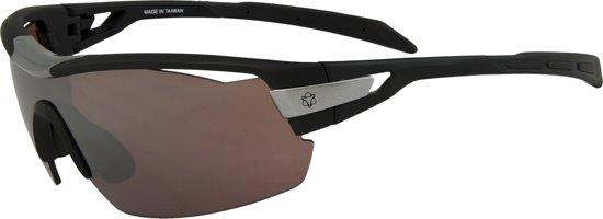 7de1d32631ab08 Agu Foss Shield HD Fietsbril - Black