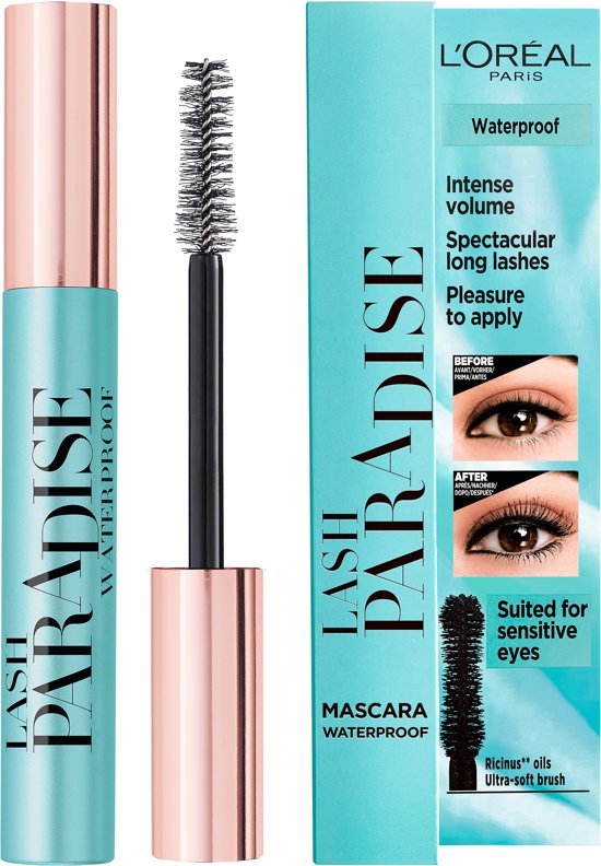 L'Oréal Paris Paradise Extatic Mascara Waterproof - Zwart