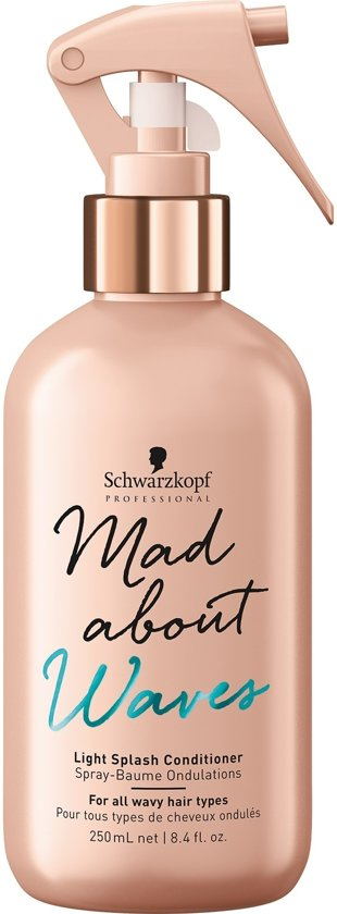 SCHWARZKOPF Mad About Waves Light Splash Conditioner
