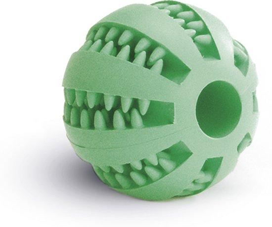 Beeztees Massagebal - Hondenspeelgoed - Rubber - Mint - 7 cm