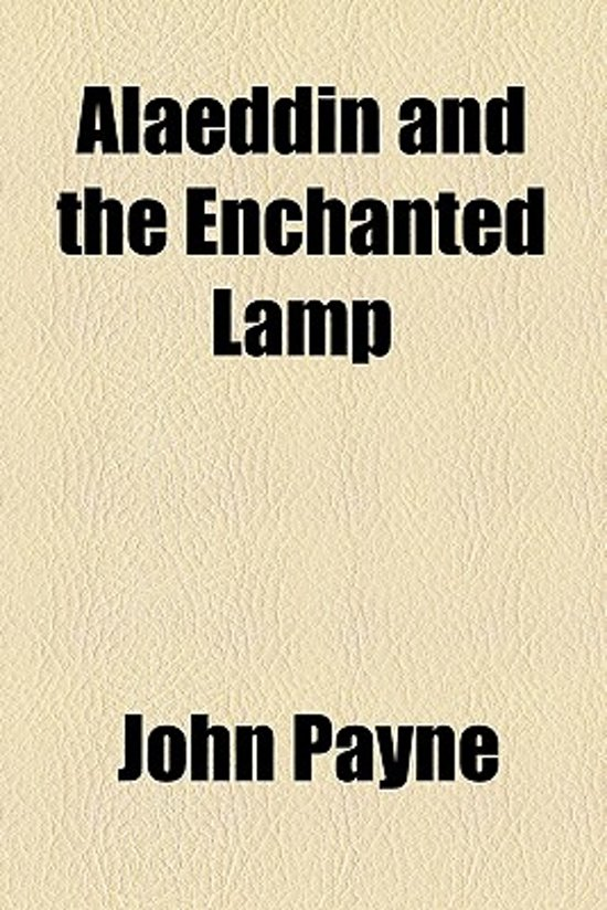 bol com | Alaeddin and the Enchanted Lamp