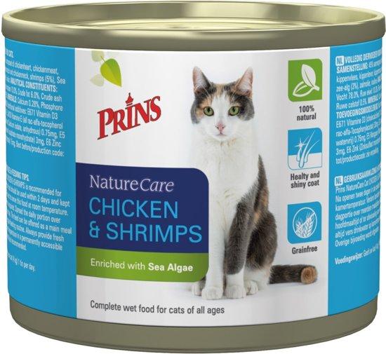 Prins NatureCare Kat Kip & Garnalen - Kattenvoer - 1200 gr