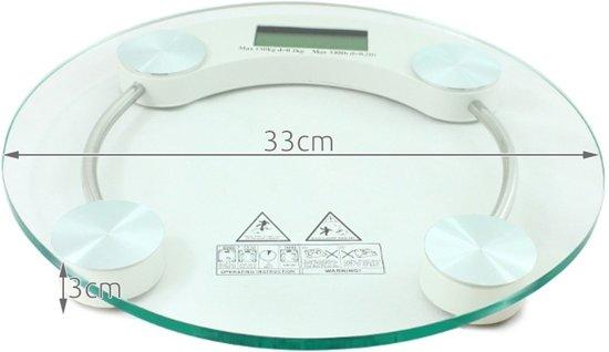 Digitale Elektronische Personenweegschaal - Nauwkeurige Design Elektrische Lichaamsweegschaal - 180KG