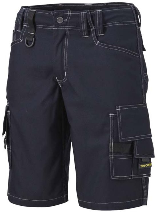 Tricorp Worker Canvas kort model - Workwear - 502006 - navy - Maat 58