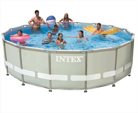 Intex Ultra Frame zwembad 427 x 107 (met reparatiesetje)