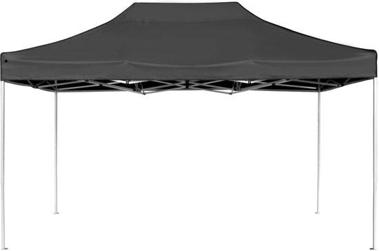Partytent professioneel inklapbaar 4,5x3 m aluminium