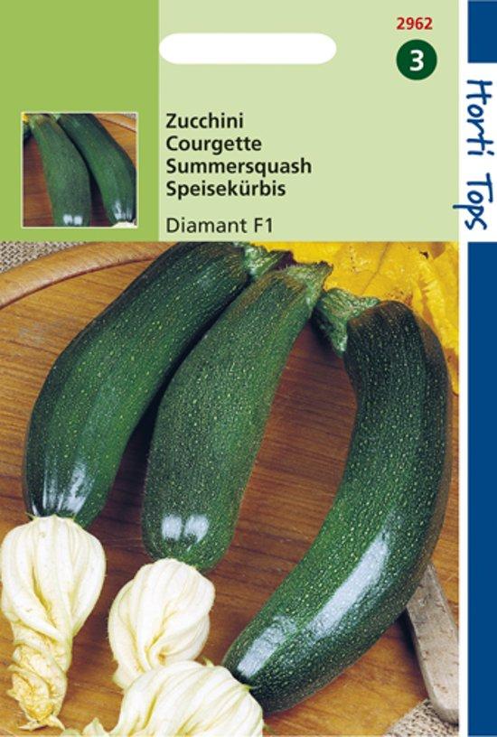 Hortitops Zaden - Zucchini (Courgette) Diamant F1