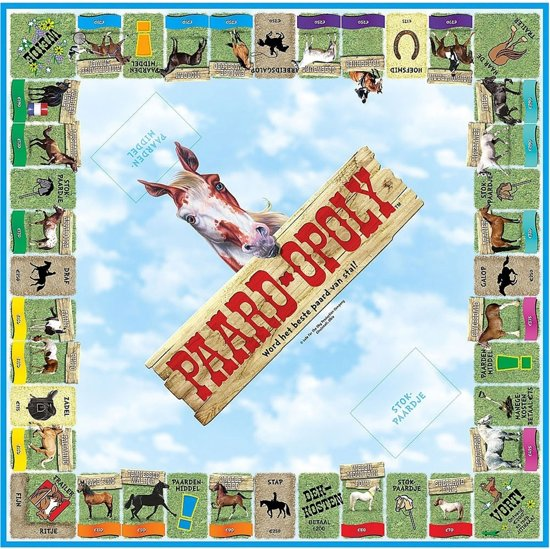 Paardopoly - Gezelschapsspel