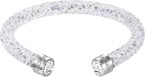 Swarovski - Klemarmband Crystaldust Cuff 5250072 - Dames - Wit - 18 cm